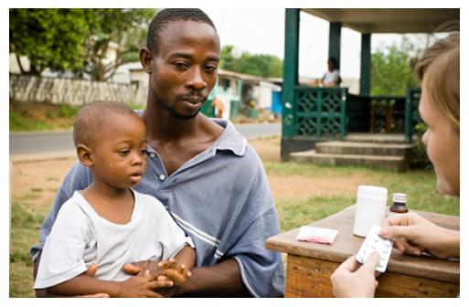 Health Worker in Africa